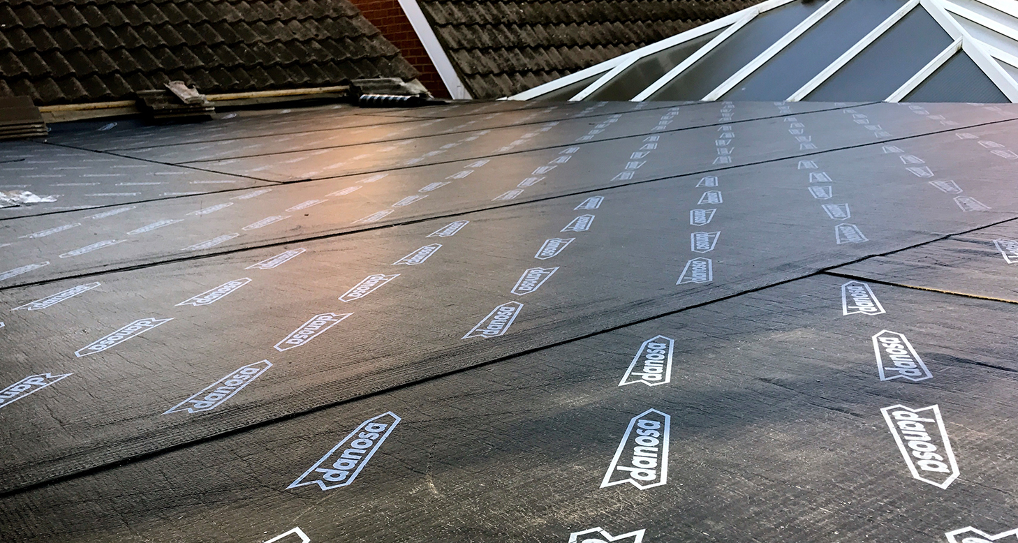 domestic torch applied felt roofing